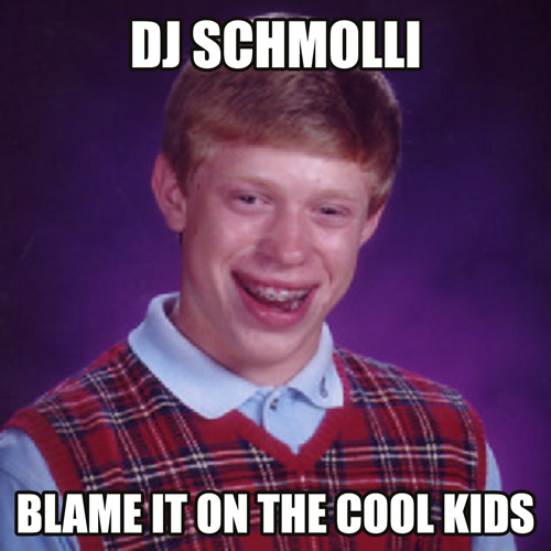 DJ Schmolli - Blame It On The Cool Kids (500)